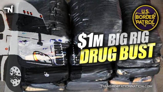 $1 million big rig drug bust