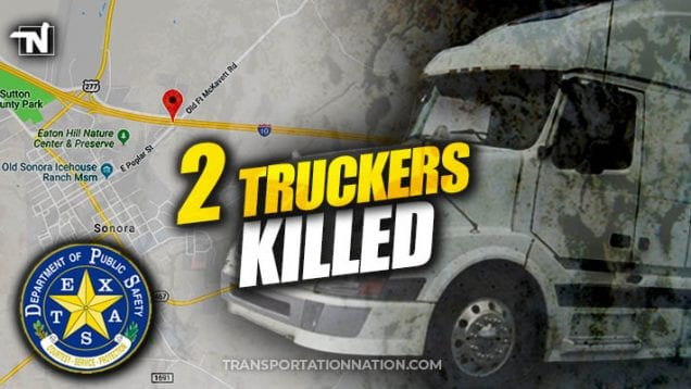 2 truckers killed – deadly pass
