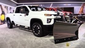 2020 Chevrolet Silverado 2500 Hd With Snow Plow Walk