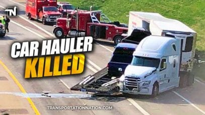 Car Hauler Killed in Detroit