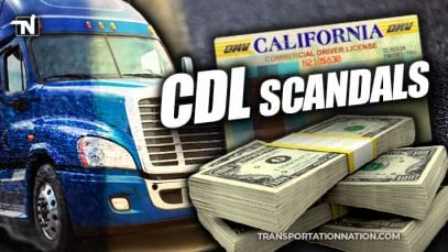 More California CDL Scandals