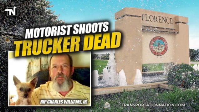 Motorist Shoots Logging Truck Driver Dead in Florence, SC