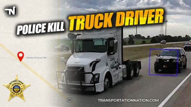 Police Kill Truck Driver in Ohio