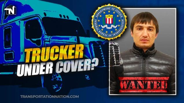 Possible Trucker Wanted by FBI