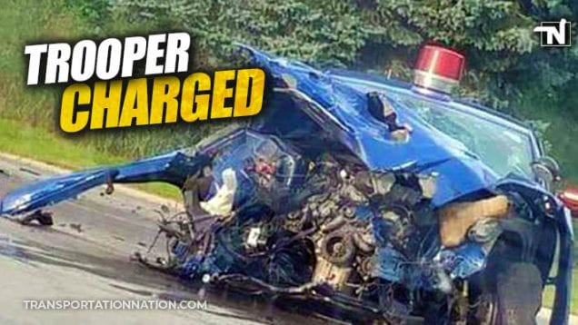 michigan state trooper involved in fatal accident with big rig – TROOPER CHARGED