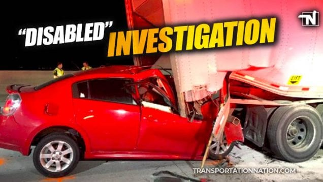 motorist dies after rear-ending semi