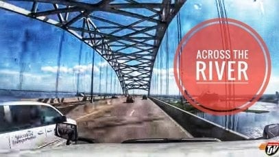 My Trucking Life | ACROSS THE RIVER | #1809