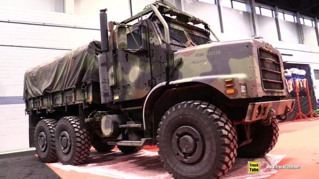 OshKosh Military Armored Truck – Walk Around