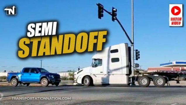semi standoff in california august 30 2019
