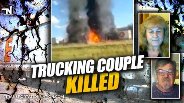 trucking couple killed in texas