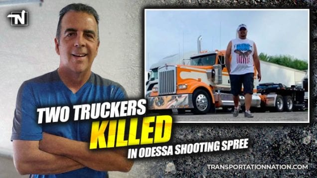 two truckers killed in odessa shooting spree