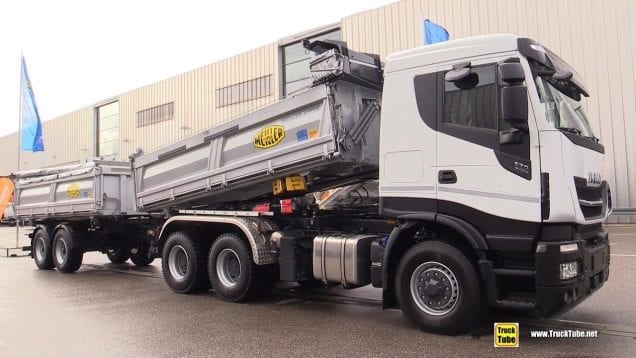 2020 Iveco Stralis X-Way 570 with Meiller Tipper and Trailer – Exterior Walk Around