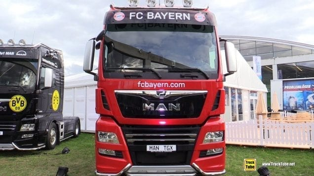 2020 MAN TGX 18.640 Bayern Munchen Truck – Exterior Walk Around