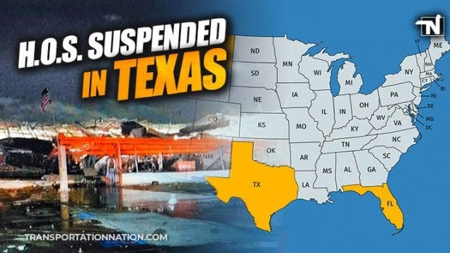 HOS Suspended in Texas