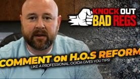 OOIDA – Comment on HOS Reform Like a Professional