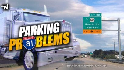 Parking Problems on I-81 in PA as Grantville rest areas close until 2021