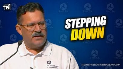 Ray Martinez Stepping Down at FMCSA Administrator