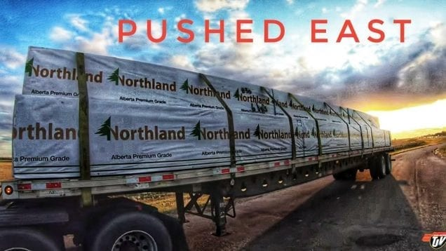 My Trucking Life | PUSHED EAST | #1814