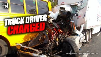 Truck Driver Charged