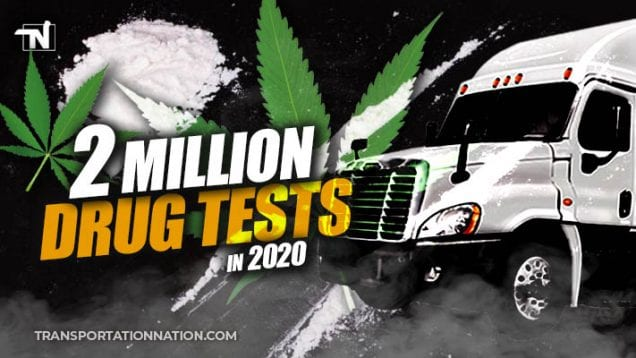 2 million drug tests in 2020