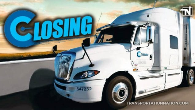 Celadon Trucking Group Closing