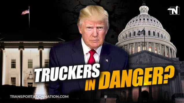 Does President Trump's House Impeachment Endanger Truckers