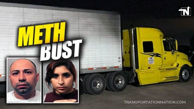 Meth Bust in Oklahoma – Trucker Sentenced to Prison