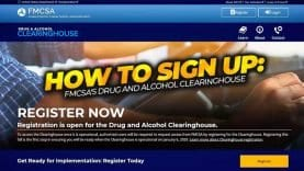 OOIDA – FMCSA's Drug and Alcohol Clearinghouse