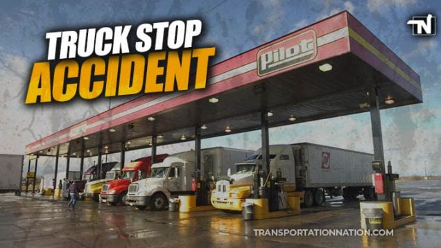 woman killed in truck stop accident at pilot in virginia