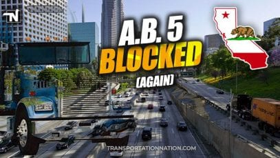 AB5 Law Blocked – January 2020