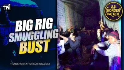 Big Rig Smuggling Bust – January 21 2020