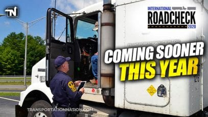 CVSA International Roadcheck 2020 – Coming Sooner