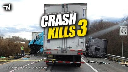 Crash Kills 3 on I-81 in VA