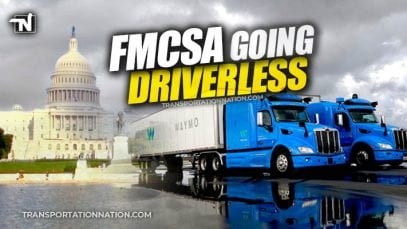 FMCSA study for driverless trucks