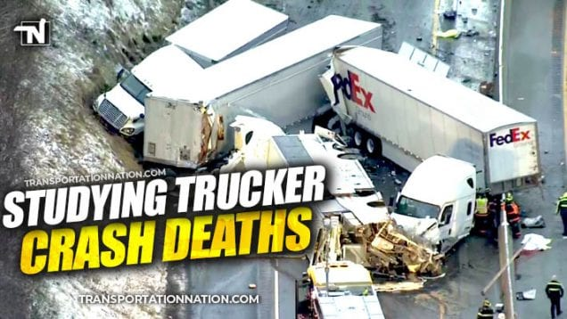 FMCSA to study trucker crash deaths