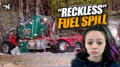 Reckless Fuel Spill