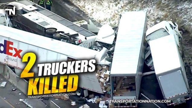 Tragedy on the Pennsylvania Turnpike – 2 Truckers Killed