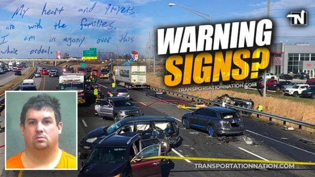 Trucker Charged I-65 in Boone County, Indiana – Were there warning signs