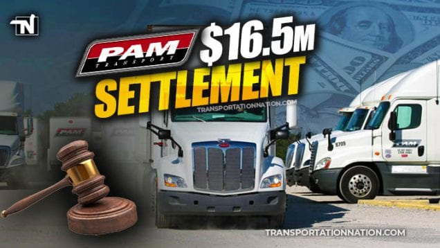 $16.5M PAM Transport Settlement