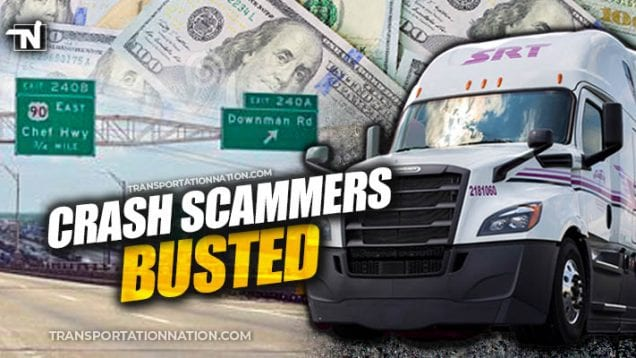 Crash Scammers Busted