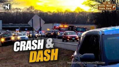Crash and Dash in Connecticut