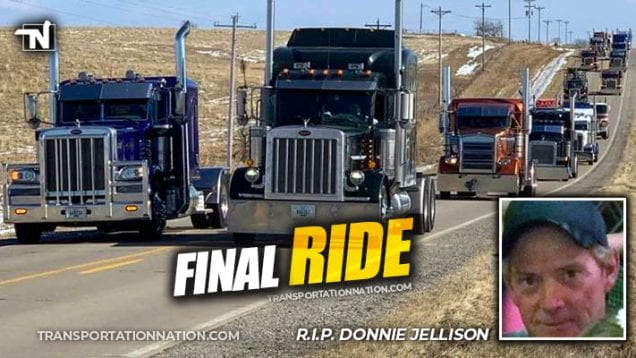 Final Ride for Donnie Jellison