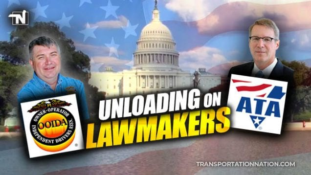 OOIDA and ATA in Washington DC – Unloading on Lawmakers