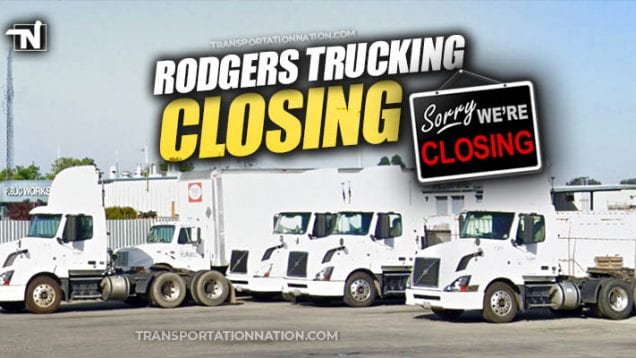 Rodgers Trucking Closing in April 2020