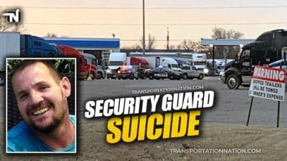 Security Guard Suicide