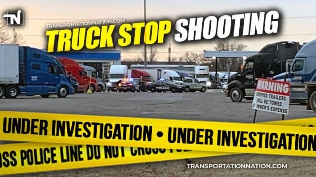 Truck Stop Shooting Under Investigation