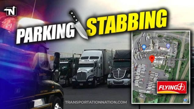 Truck Stop Stabbing at Flying J in Clear Brook, VA