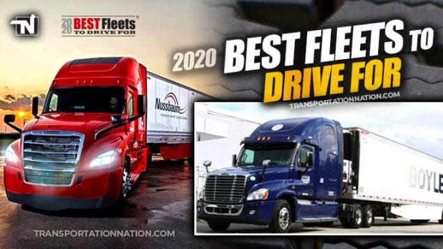 2020 Best Fleets to Drive for – Boyle and Nussbaum