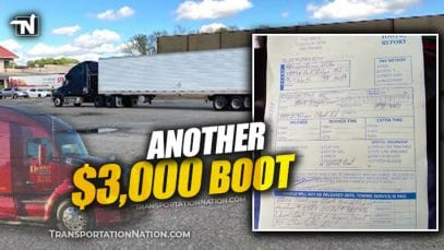 Another $3,000 boot in Charlotte same day as Donald Spellings