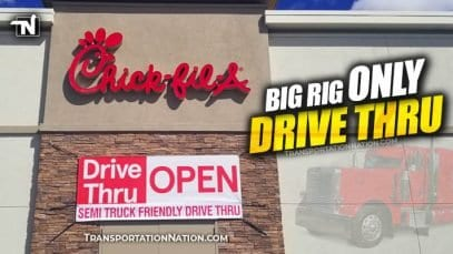 Chick-fil-A Big Rig Only Drive Thru
